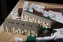 Modellbau Plexi, Farbpapier 1:200
