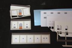 Modellfassaden Farbpapier 1:200