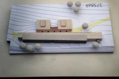 Wettbewerbsmodell 1:500