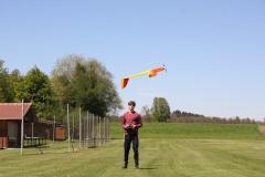 miniFEX Rückenflug